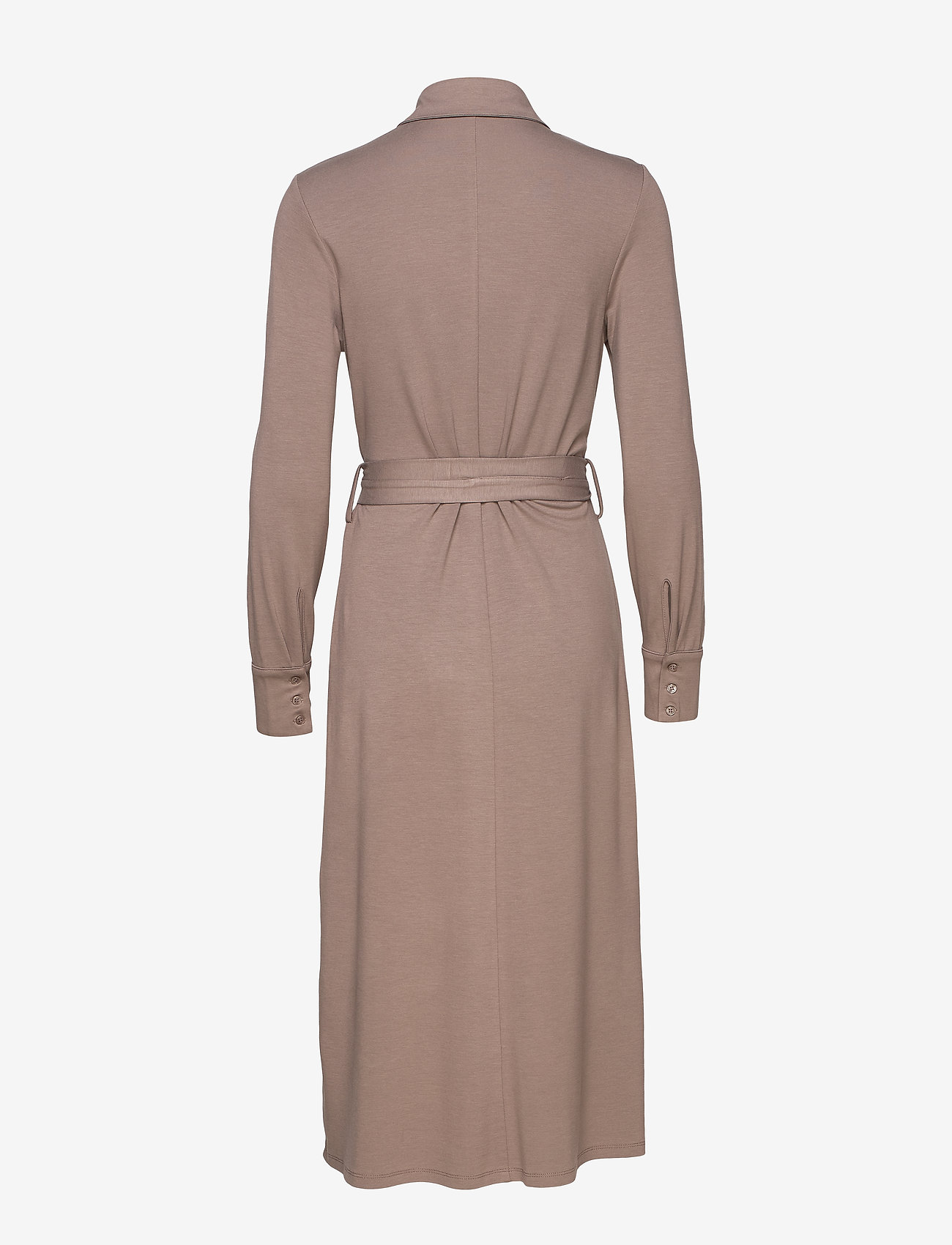 Esprit Collection - Dresses knitted - skjortekjoler - taupe - 1