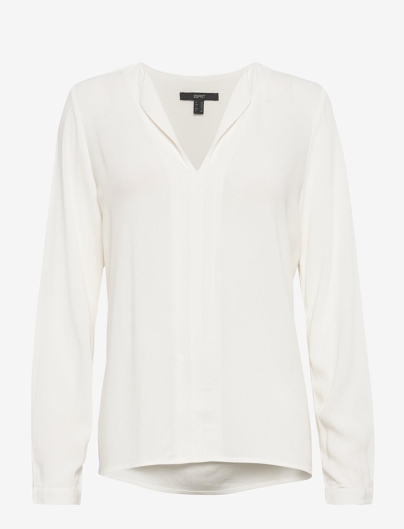Esprit Collection - Blouses woven - langærmede bluser - off white - 0