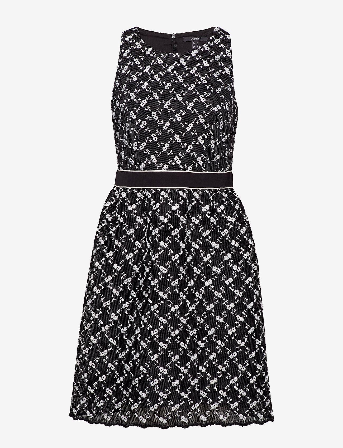 Esprit Collection - Dresses woven - midi kjoler - black - 0