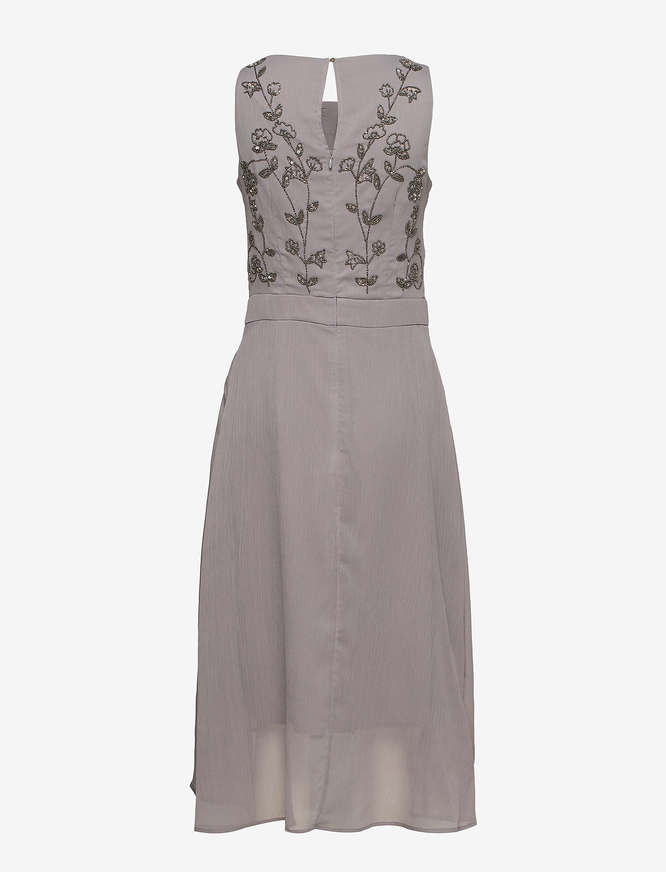 Esprit Collection - Dresses light woven - midi kjoler - grey - 1