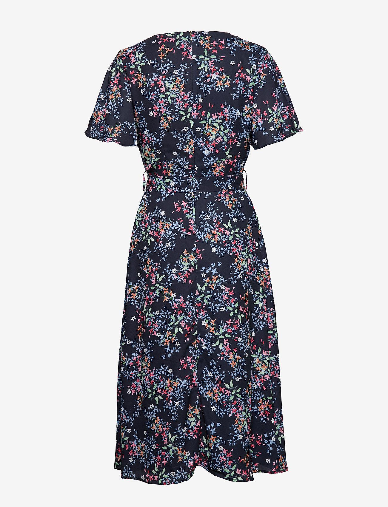 Esprit Collection - Dresses light woven - slå-om-kjoler - navy 4 - 1