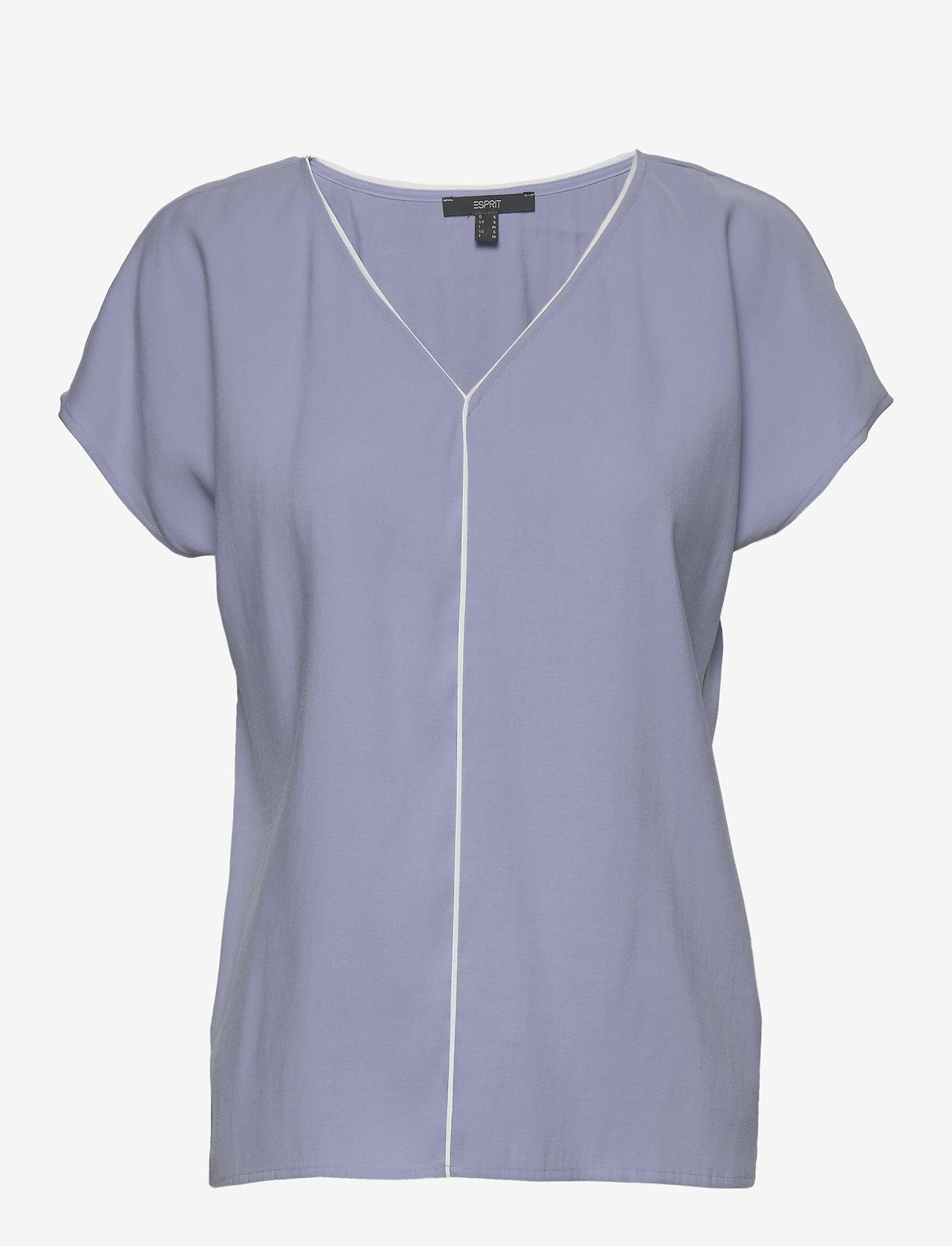 Esprit Collection - Blouses woven - kortermede bluser - blue lavender - 0