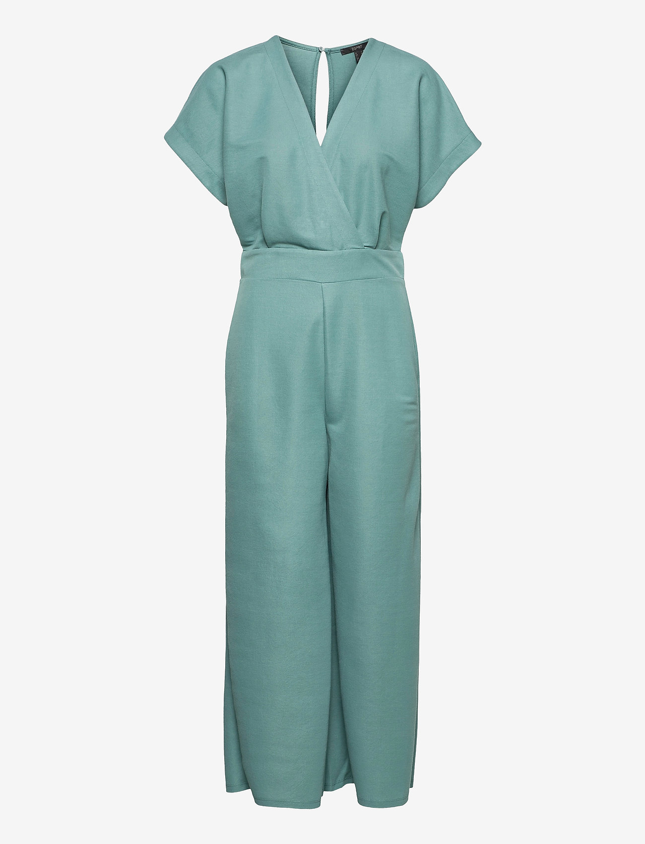 Esprit Collection - Overalls knitted - jumpsuits - dark turquoise - 0