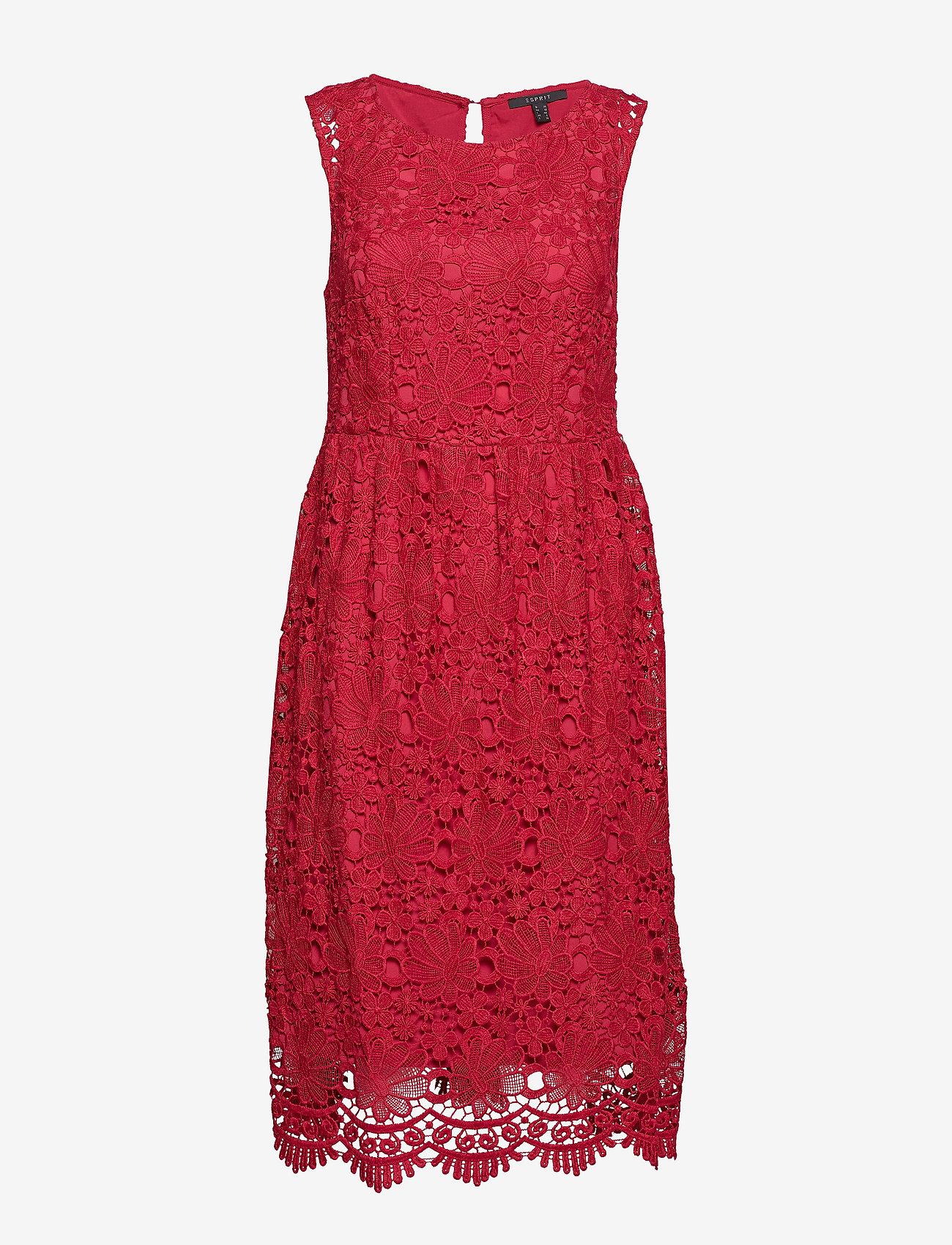 Esprit Collection - Dresses light woven - midi kjoler - pink fuchsia - 0