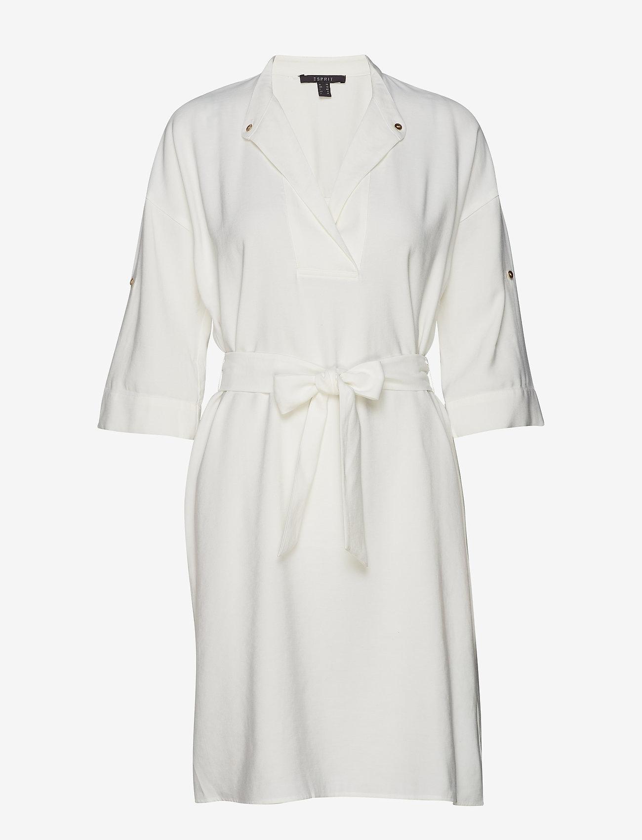 Esprit Collection - Dresses light woven - slå-om-kjoler - off white - 0