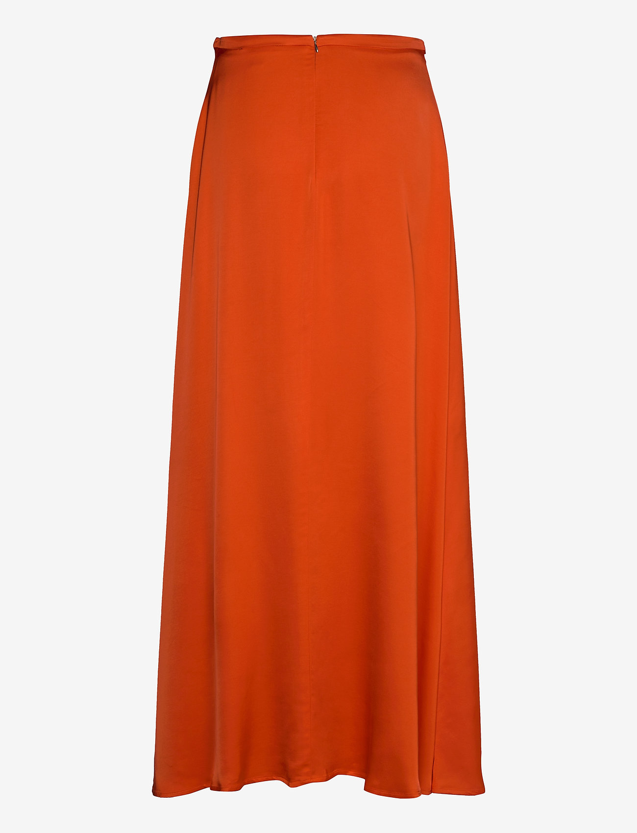 Esprit Collection - Skirts light woven - maxi skirts - red orange - 1