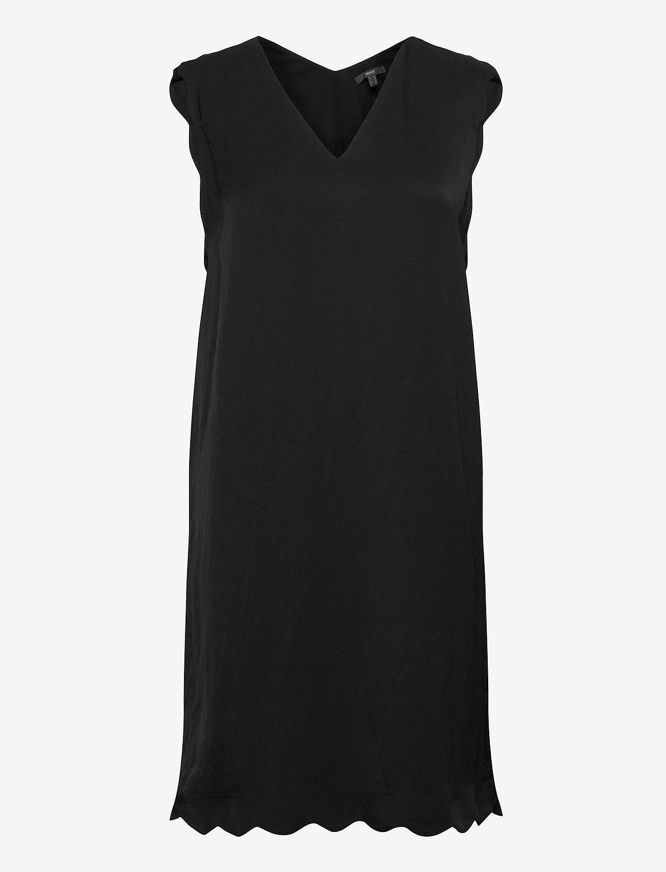 Esprit Collection - Dresses light woven - korte kjoler - black - 0