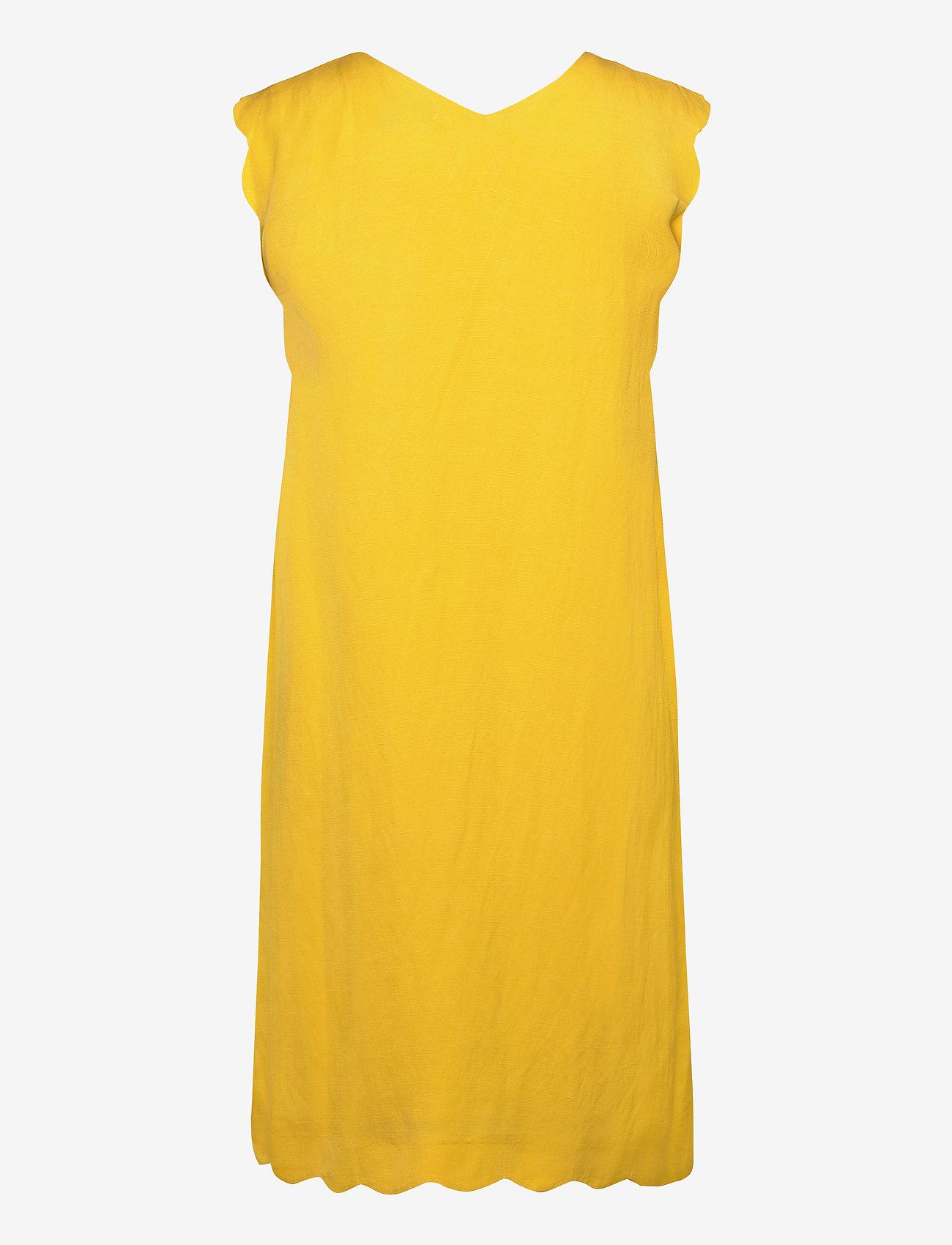 Esprit Collection - Dresses light woven - korte kjoler - yellow - 1