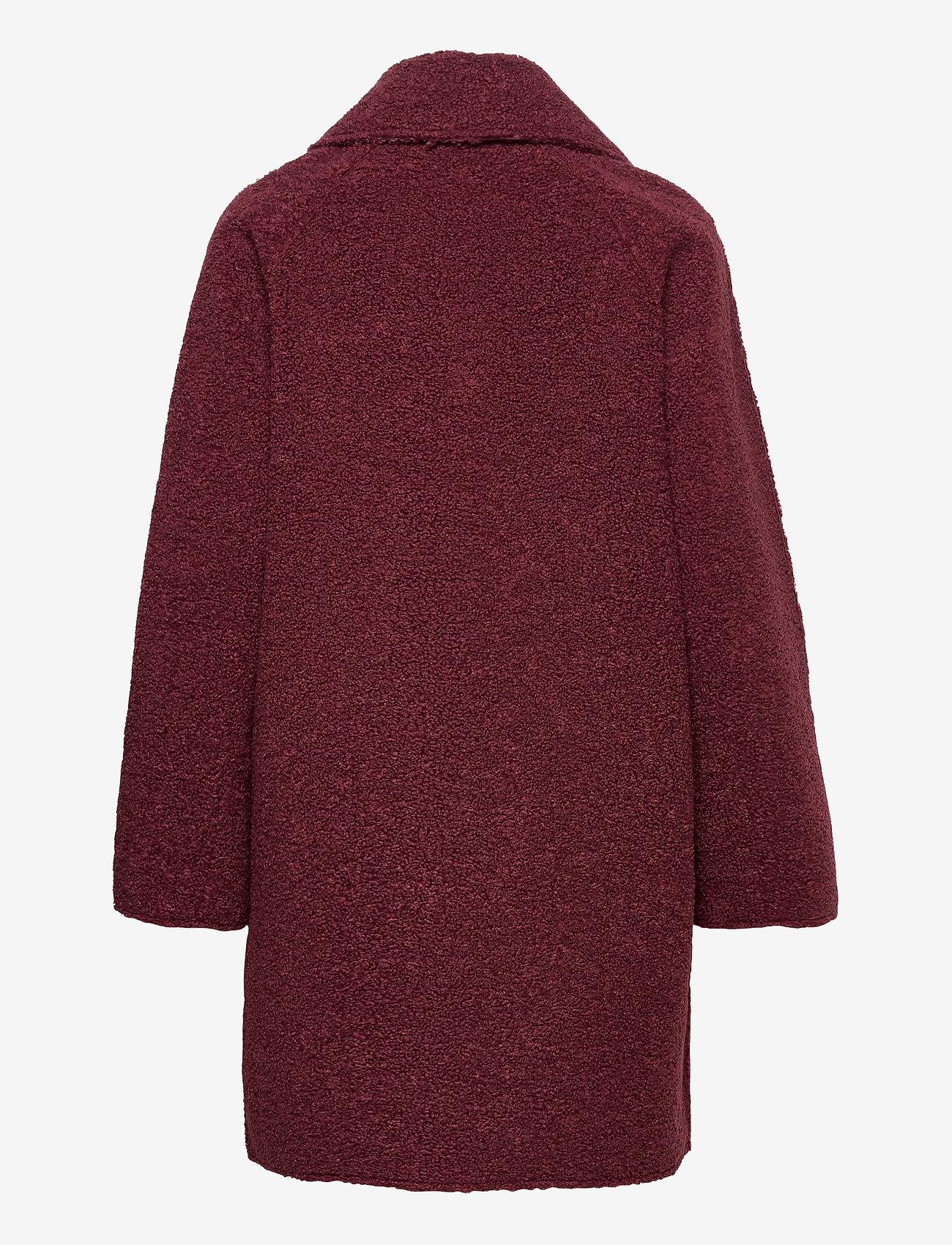 Esprit Collection - Coats woven - manteaux en laine - bordeaux red - 1