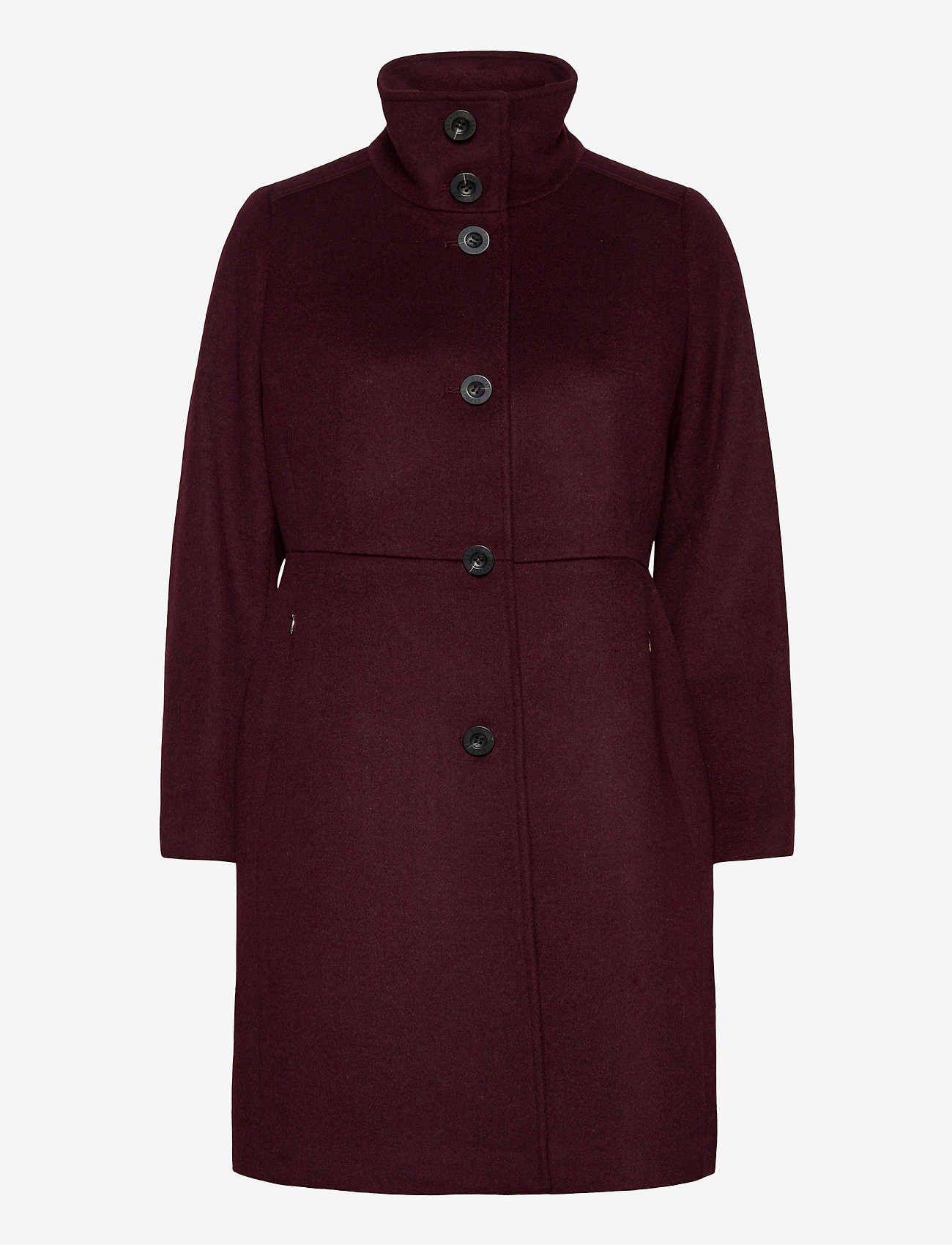 Esprit Collection - Coats woven - manteaux en laine - bordeaux red - 1