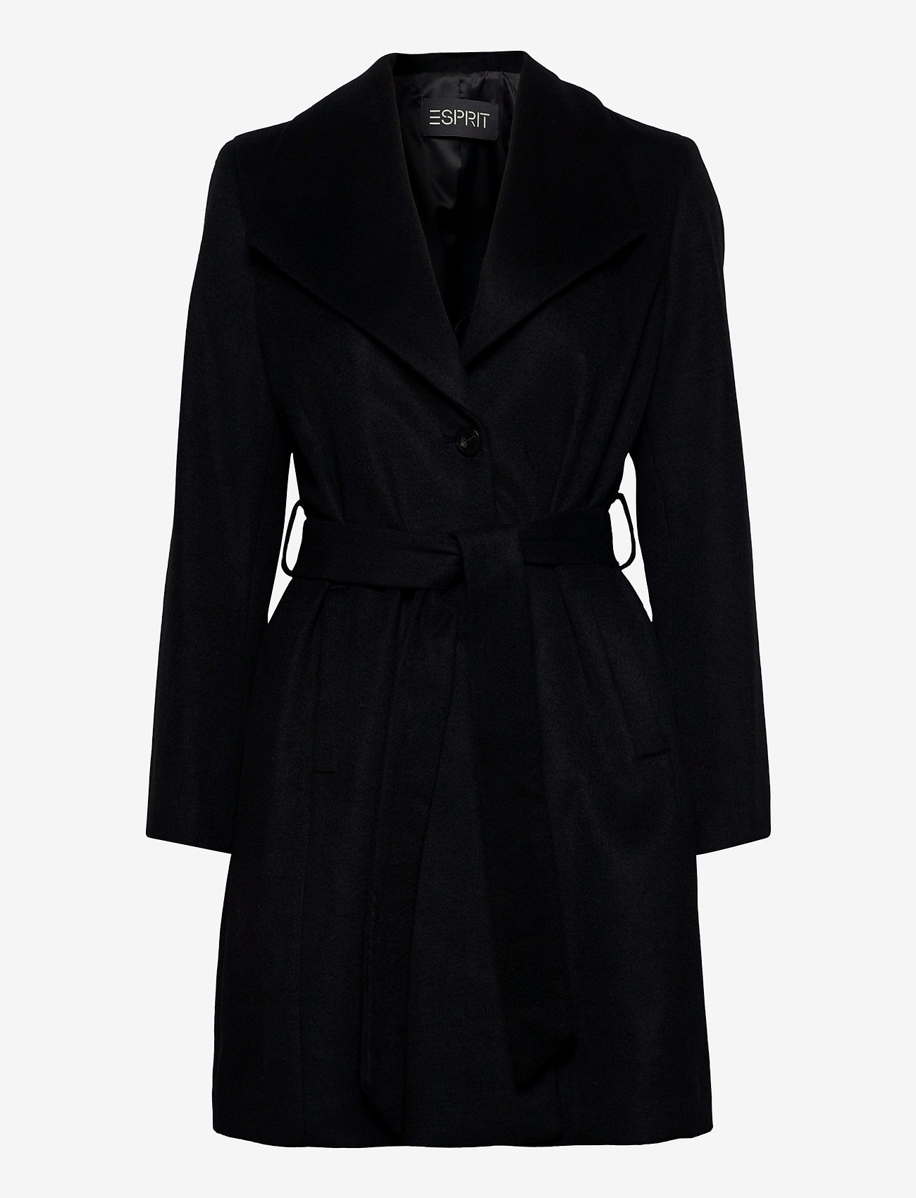 Esprit Collection - Coats woven - manteaux en laine - black - 0