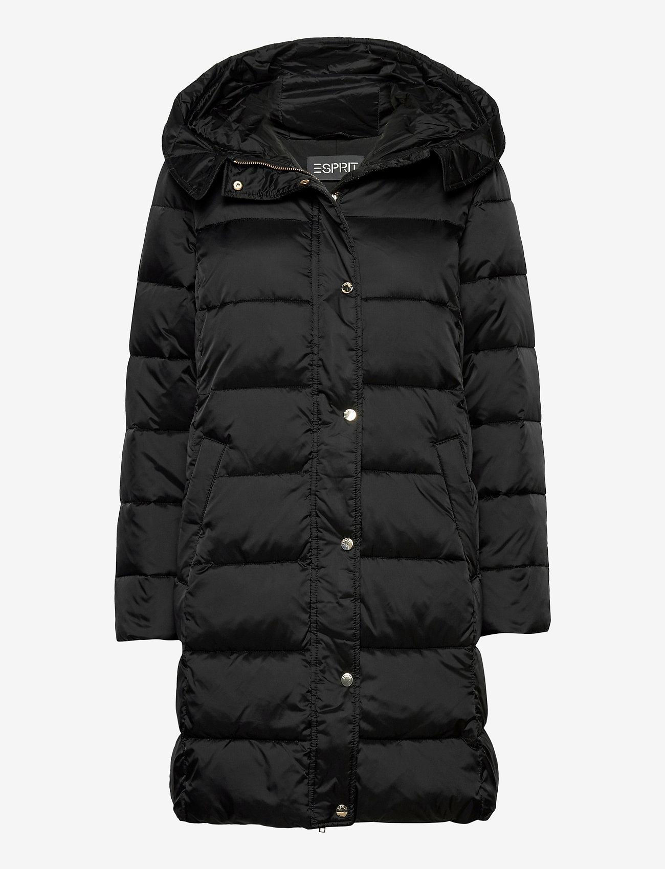 Esprit Collection - Coats woven - manteaux d'hiver - black - 0