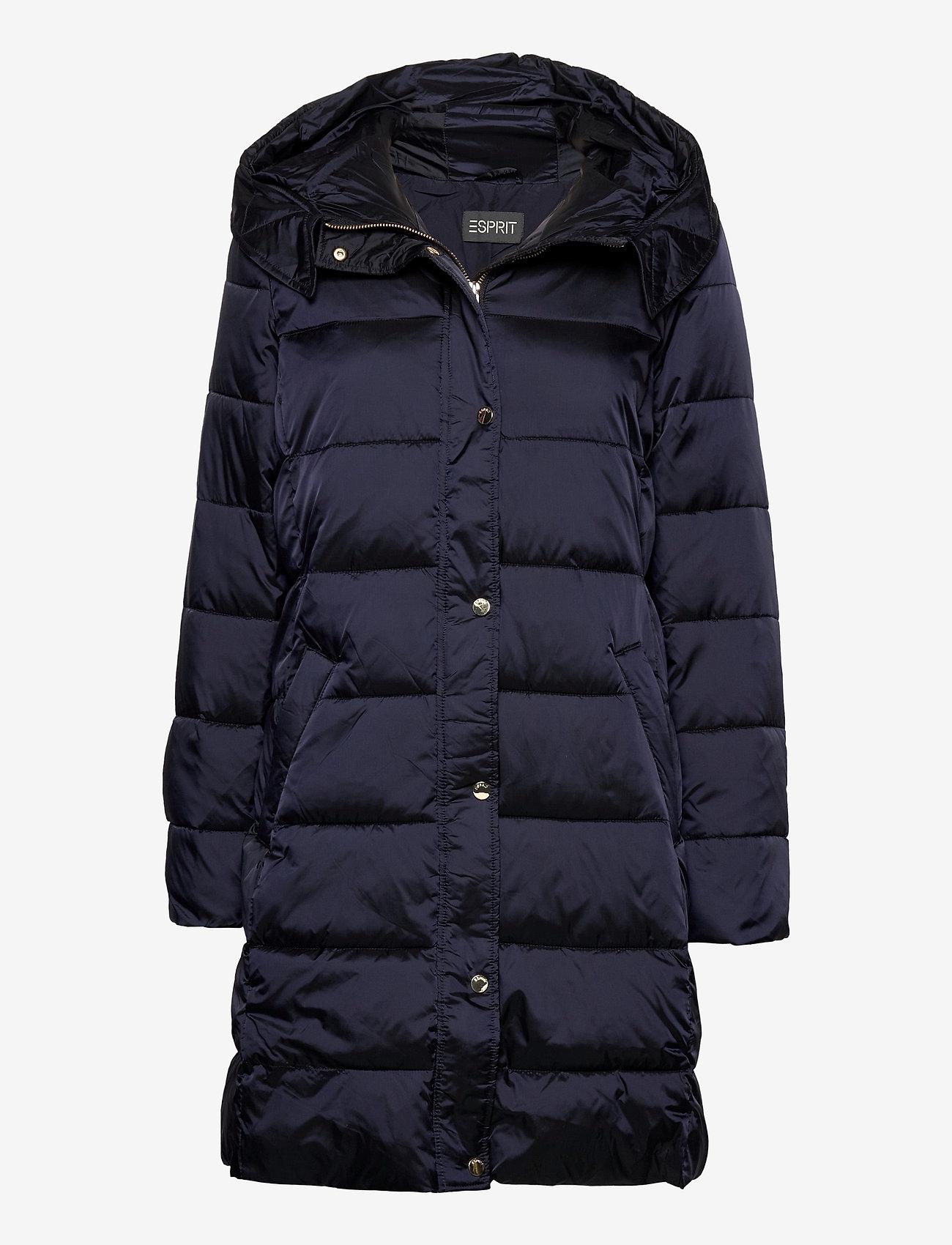 Esprit Collection - Coats woven - gewatteerde jassen - navy - 0