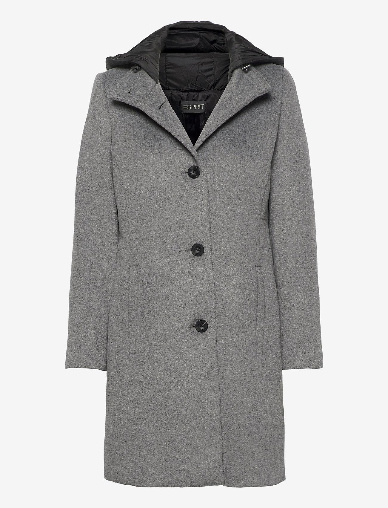 Esprit Collection - Coats woven - manteaux en laine - gunmetal 5 - 0