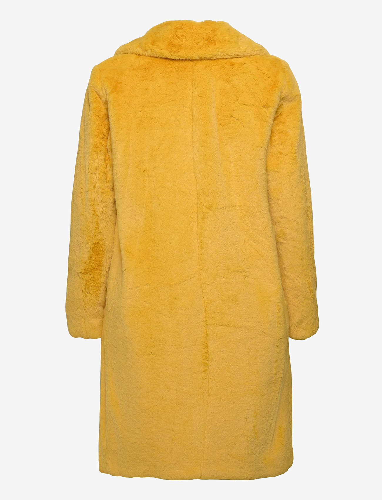 Esprit Collection - Coats woven - fausse fourrure - dusty yellow - 1