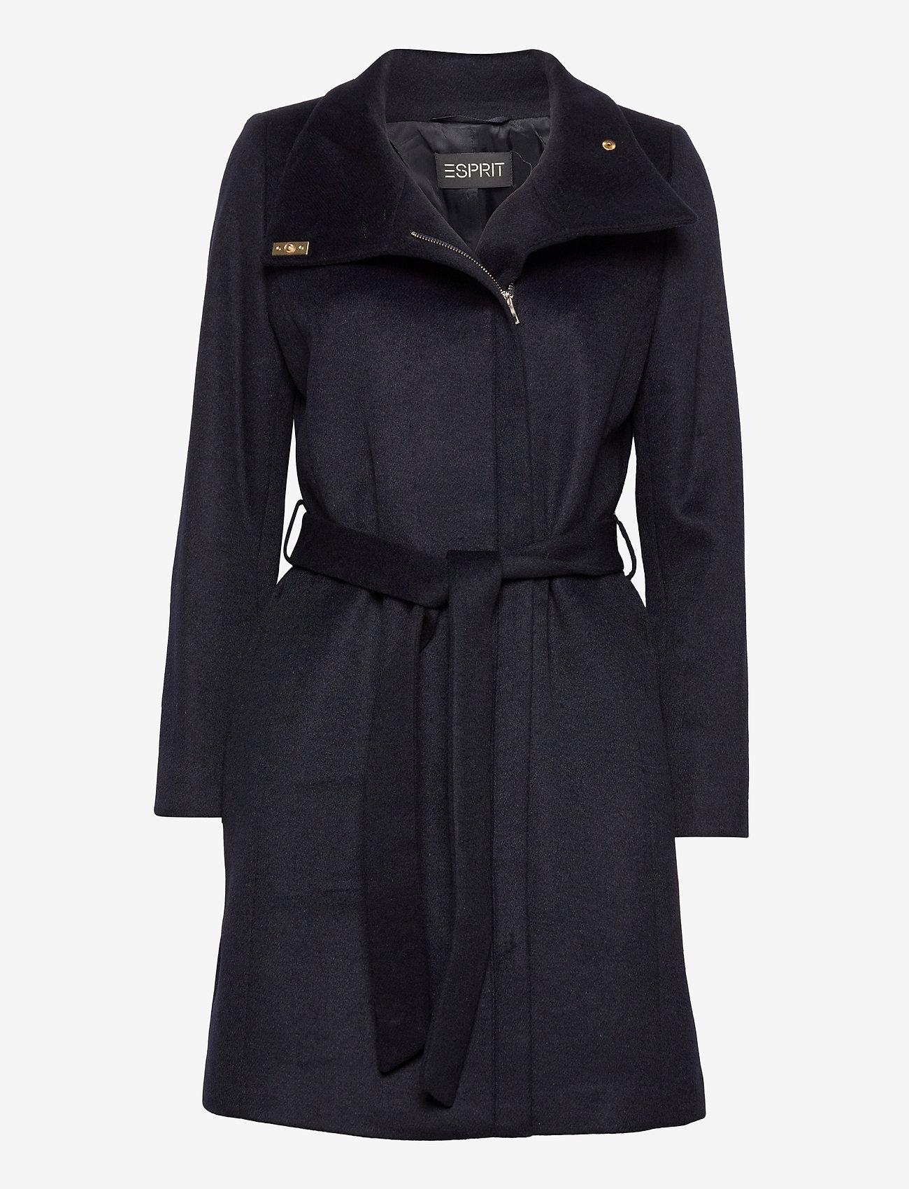 Esprit Collection - Coats woven - manteaux en laine - navy - 0