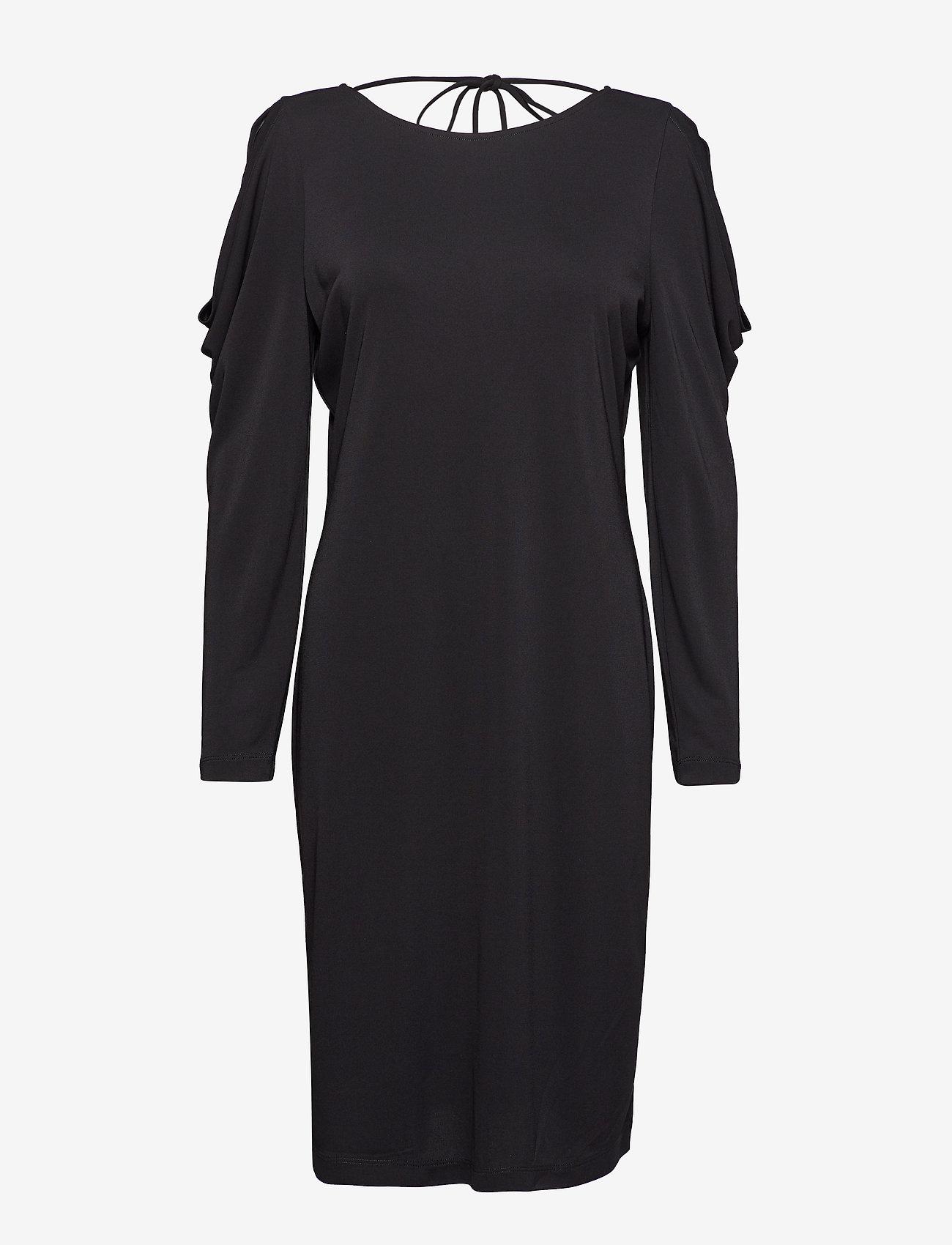 Esprit Collection - Dresses knitted - korte kjoler - black - 0