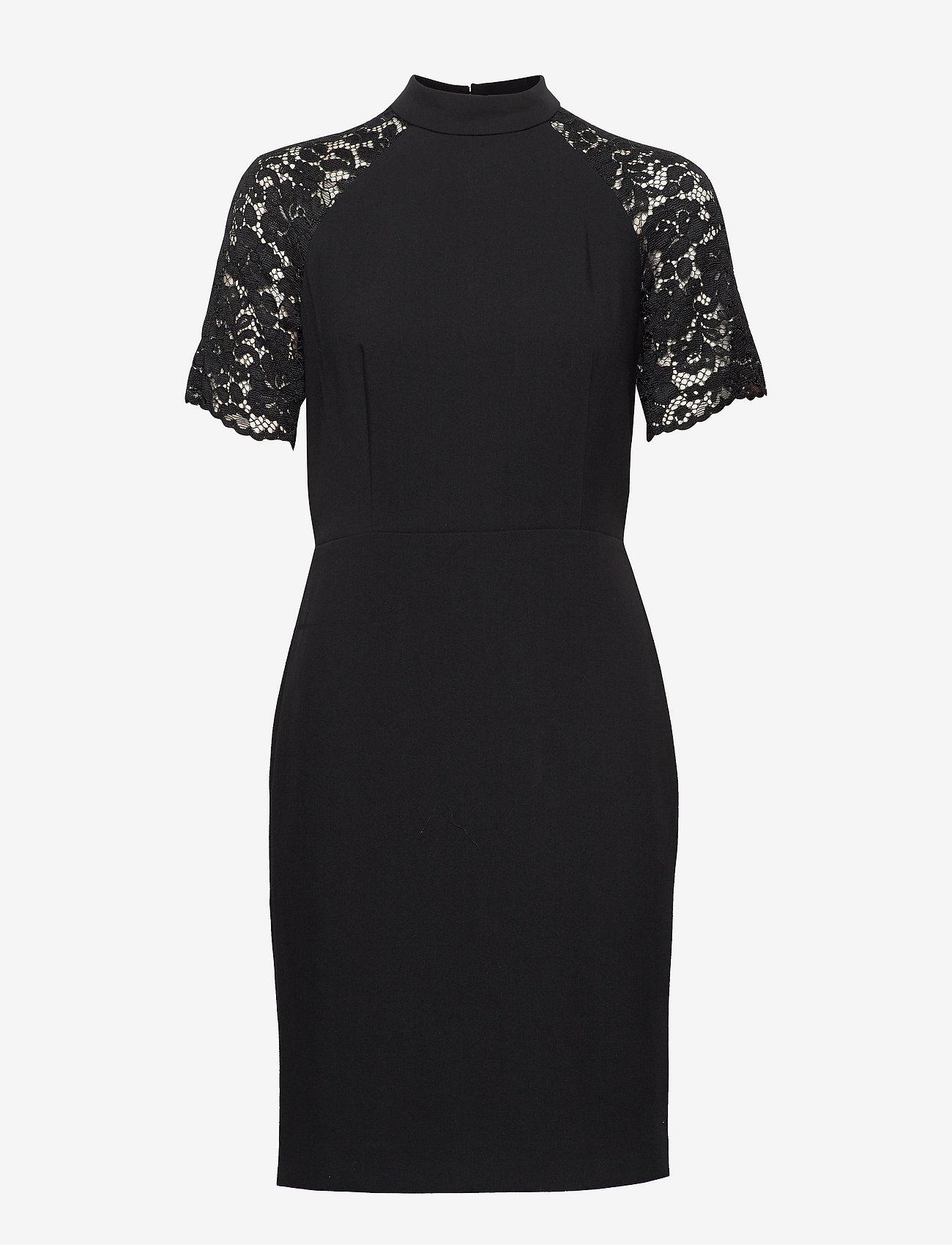 Esprit Collection - Dresses woven - bodycon-kjoler - black - 0