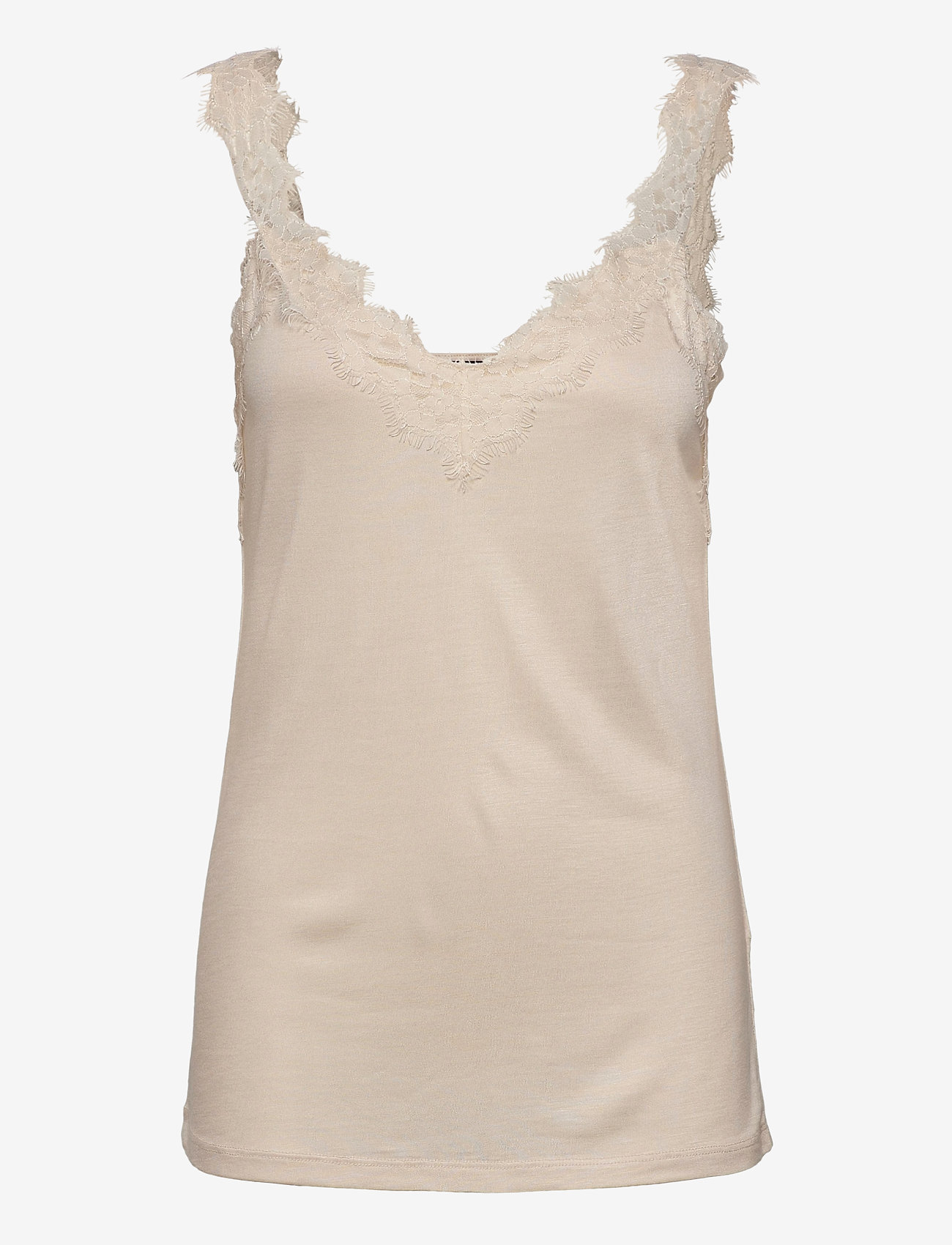 Esprit Collection - T-Shirts - sleeveless tops - sand - 0
