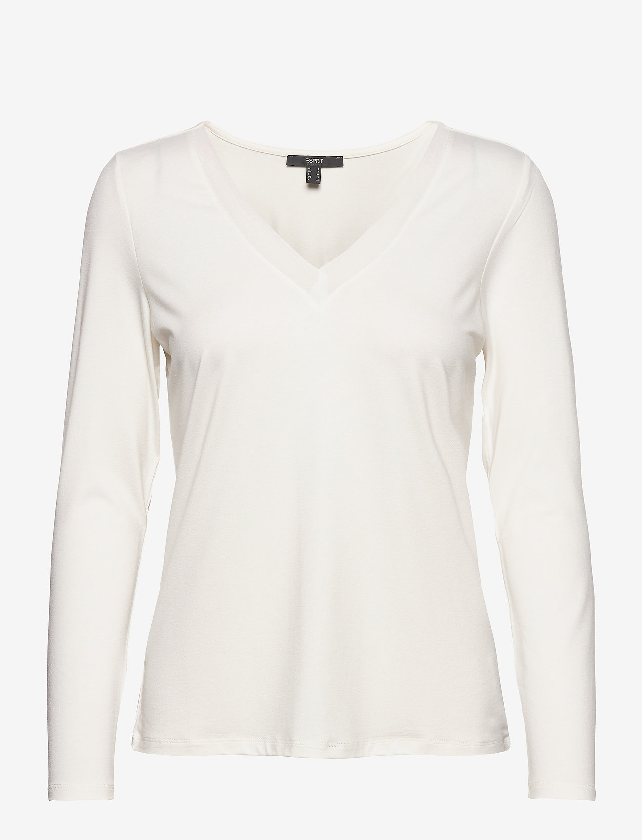 Esprit Collection - T-Shirts - long-sleeved tops - off white - 0
