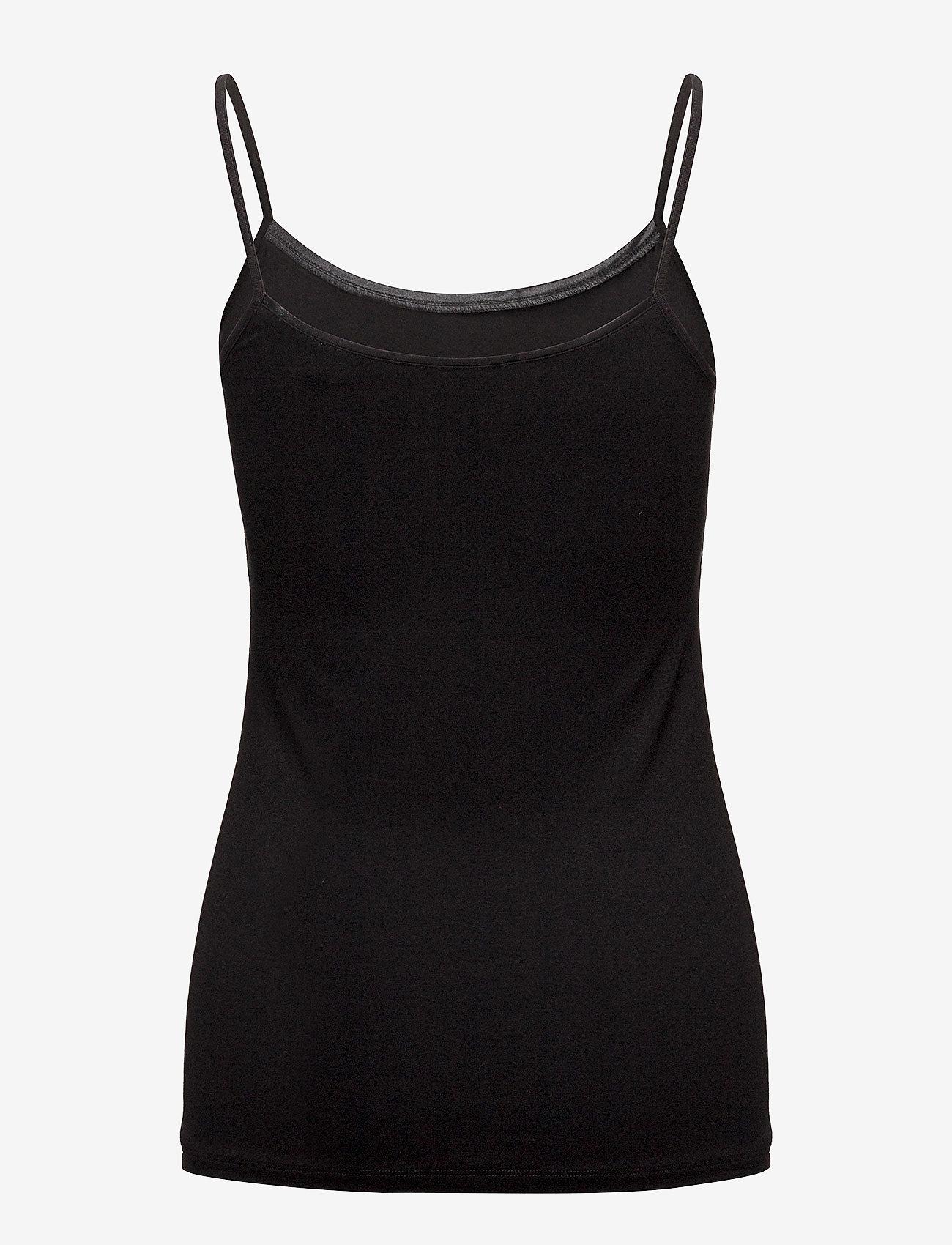 Esprit Collection - T-Shirts - Ærmeløse toppe - black - 1