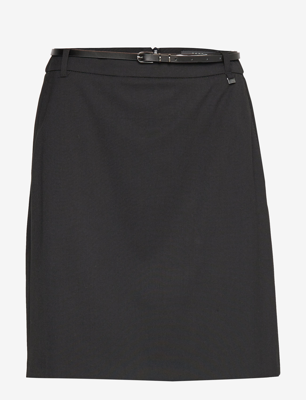 Esprit Collection - Skirts woven - midi skirts - black - 0