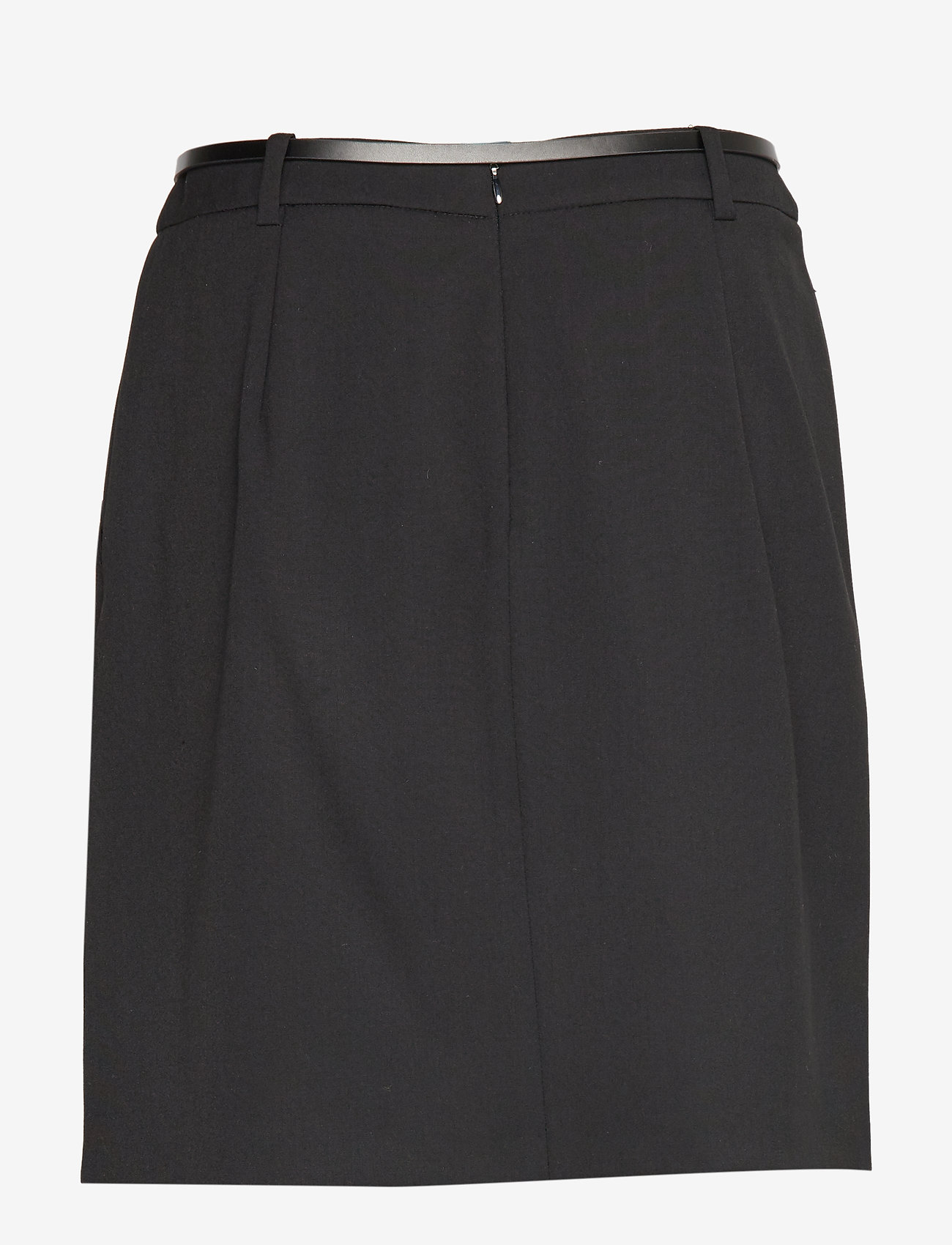 Esprit Collection - Skirts woven - midi skirts - black - 1