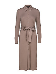Dresses knitted - TAUPE