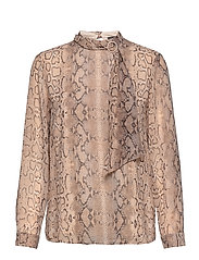 Blouses woven - LIGHT TAUPE 4