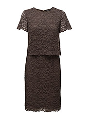Dresses light woven - TAUPE