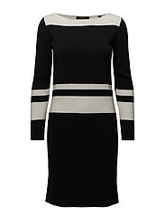 Dresses flat knitted - BLACK
