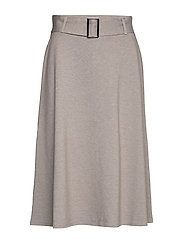 Skirts knitted - LIGHT BEIGE