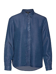 Blouses denim - BLUE MEDIUM WASH