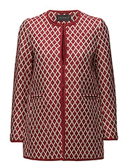 Coats woven - DARK RED