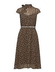 Dresses light woven - BROWN GREY