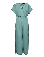 Overalls knitted - DARK TURQUOISE