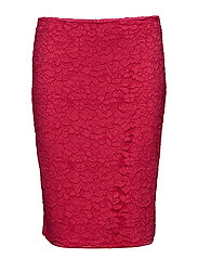 Skirts light woven - PINK FUCHSIA