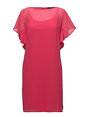 Dresses light woven - PINK FUCHSIA