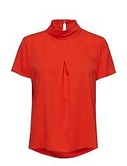 Blouses woven - RED ORANGE