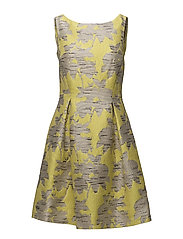 Dresses woven - YELLOW