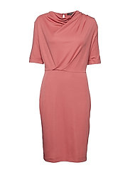 Dresses knitted - SALMON