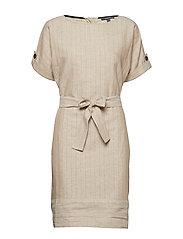 Dresses light woven - LIGHT BEIGE