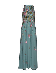 Dresses light woven - DUSTY GREEN