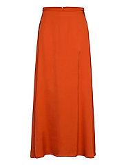 Skirts light woven - RED ORANGE
