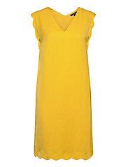 Dresses light woven - YELLOW