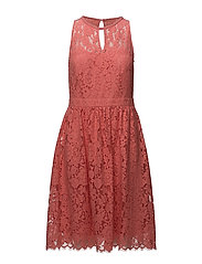 Dresses light woven - CORAL