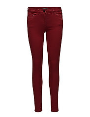 Pants woven - DARK RED