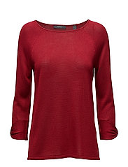 Sweaters - DARK RED