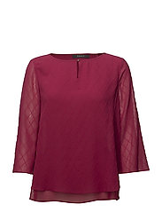 Blouses woven - CHERRY RED