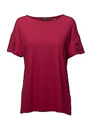 T-Shirts - CHERRY RED